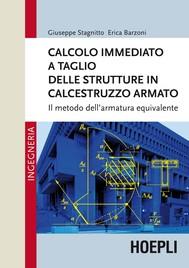 Calcolo immediato a taglio delle strutture in calcestruzzo armato - copertina