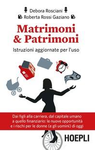 Matrimoni & Patrimoni - Librerie.coop