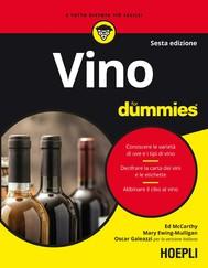 Vino for dummies - copertina