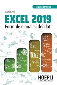 Excel 2019: formule e analisi dei dati - Librerie.coop