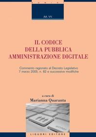 Il Codice della Pubblica Amministrazione Digitale - Librerie.coop