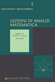 Lezioni di Analisi matematica - copertina