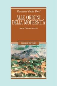 Alle origini della modernità - copertina