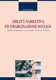 Abilità narrativa ed emarginazione sociale - copertina