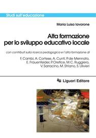 Alta formazione per lo sviluppo educativo locale - copertina