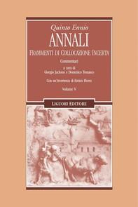 Annali (Frammenti di collocazione incerta) - Librerie.coop