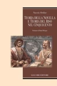 Teoria della novella e teoria del riso nel Cinquecento - Librerie.coop