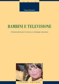 Bambini e televisione - copertina