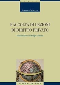 Raccolta di lezioni di diritto privato - Librerie.coop