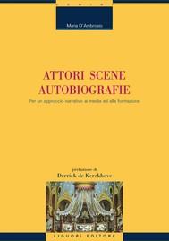 Attori Scene Autobiografie - copertina