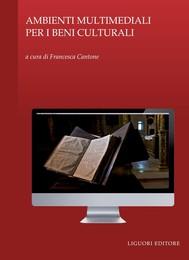 Ambienti multimediali per i beni culturali - copertina