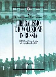 Liberalismo e rivoluzione in Russia - copertina