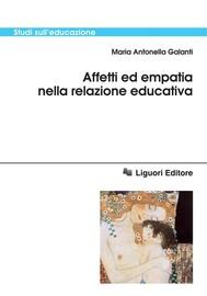 Affetti ed empatia nella relazione educativa - copertina