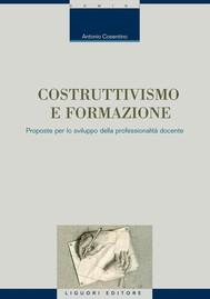 Costruttivismo e formazione - copertina