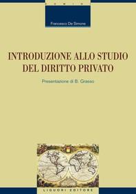 Introduzione allo studio del diritto privato - Librerie.coop
