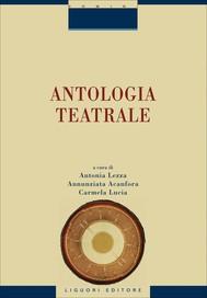 Antologia teatrale - copertina