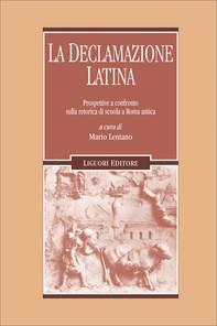La declamazione latina - Librerie.coop