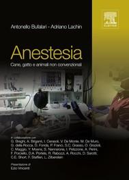 Anestesia: cane, gatto e animali non convenzionali - copertina