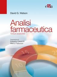 Analisi farmaceutica 3ed. - copertina