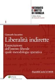 Liberalità indirette - copertina