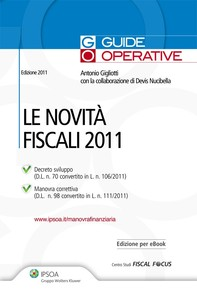Le novità fiscali 2011 - Librerie.coop