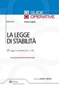 La legge di stabilità - Librerie.coop