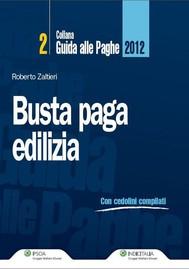 Busta paga - Edilizia 2012 - copertina