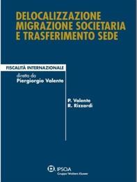 Delocalizzazione migrazione societaria e trasferimento sede - Librerie.coop