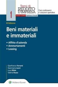 Beni materiali e immateriali - copertina