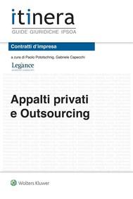 Appalti privati e outsourcing - copertina