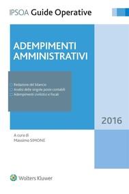Adempimenti amministrativi - copertina