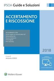 Accertamento e riscossione 2018 - copertina