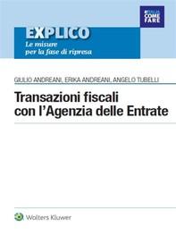 Transazioni fiscali con l'Agenzia delle Entrate - Librerie.coop