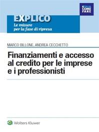 Finanziamenti e accesso al credito per le imprese e i professionisti - Librerie.coop