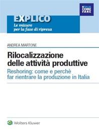 Rilocalizzazione delle attività produttive - Librerie.coop