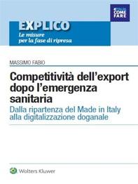 Explico - Competitività dell'export dopo l'emergenza sanitaria - Librerie.coop