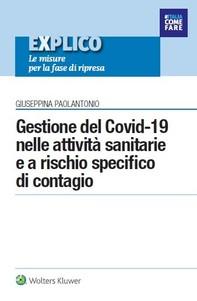 Gestione del Covid-19 nelle attività sanitarie e a rischio specifico di contagio - Librerie.coop