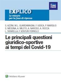 Le principali questioni giuridico-sportive ai tempi del COVID-19 - Librerie.coop