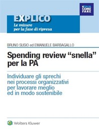 Spending review nella PA - Librerie.coop