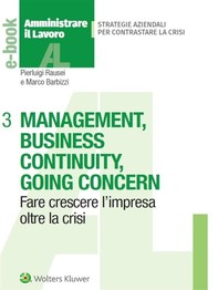 Management, business continuity, going concern - Librerie.coop