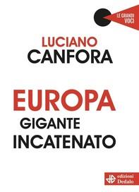 Europa gigante incatenato - Librerie.coop