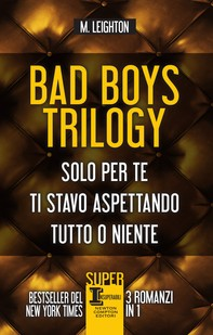 Bad Boys Trilogy - Librerie.coop