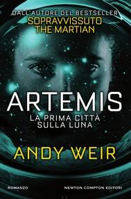 Artemis. La prima città sulla luna - copertina