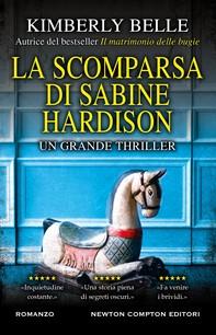 La scomparsa di Sabine Hardison - Librerie.coop