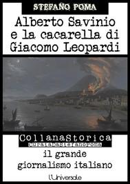 Alberto Savinio e la cacarella di Giacomo Leopardi - copertina