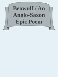 Beowulf / An Anglo-Saxon Epic Poem - copertina