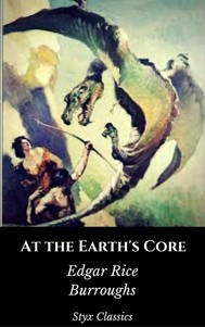 At the Earth's Core - copertina