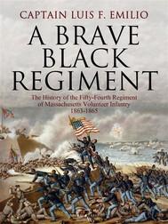 A Brave Black Regiment - copertina
