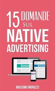 15 Domande sul Native Advertising - copertina