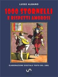 1000 stornelli e Rispetti Amorosi - copertina